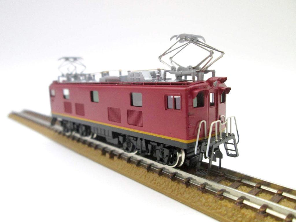 ワールド工芸 Nゲージ 国鉄ED91 21号機 試作交流機 塗装済完成品 外観 斜め前