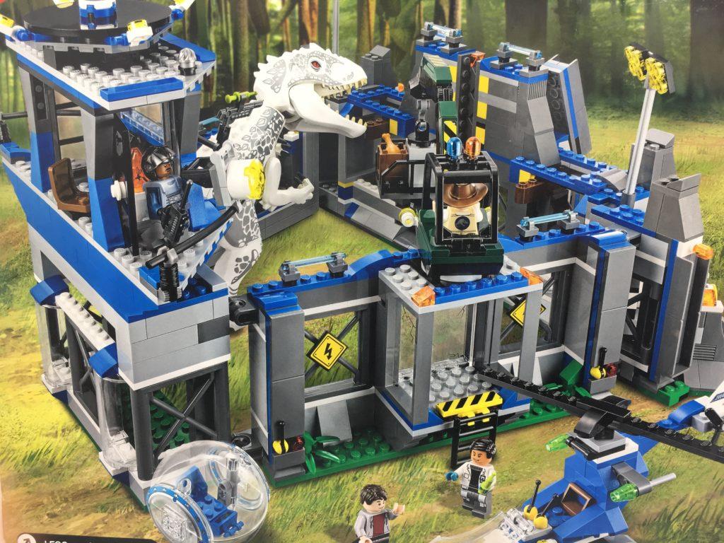 レゴ 75919 ジュラシックワールド インドミナス・レックスの脱出 パッケージ裏