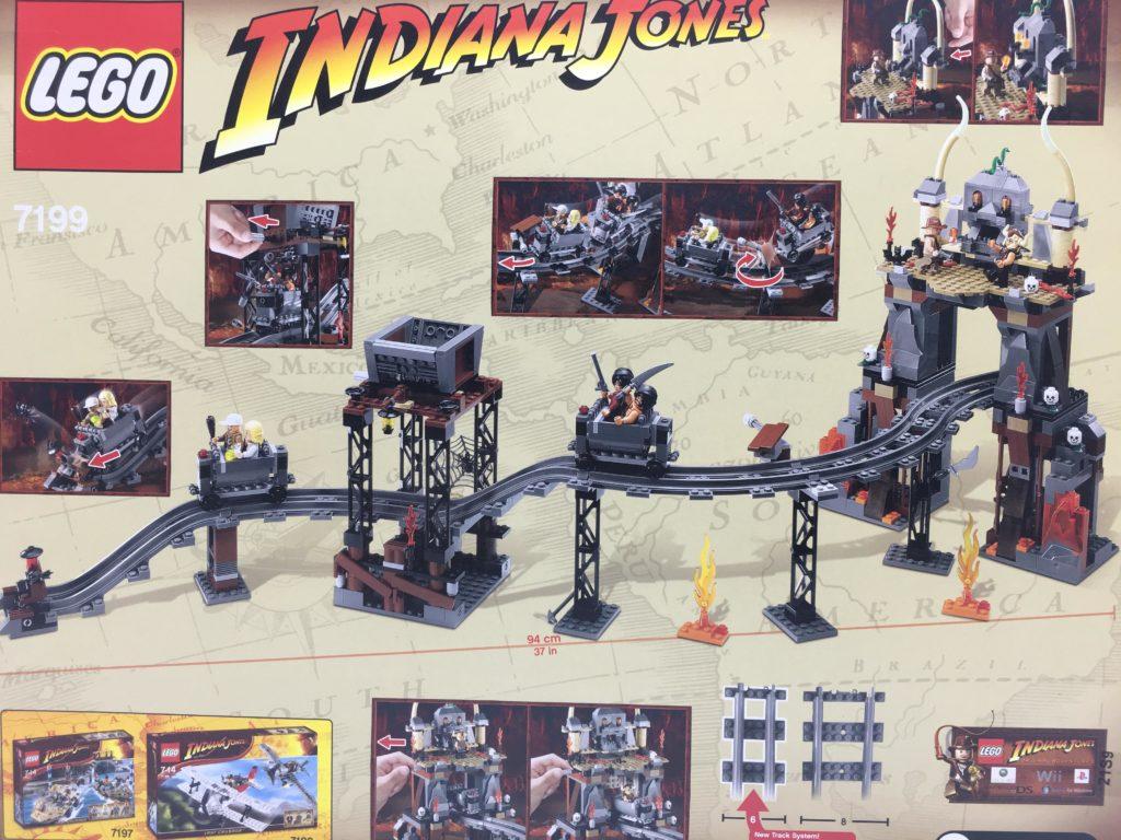 レゴ インディ・ジョーンズ 7199 魔宮の伝説 裏面