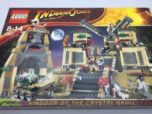 LEGOインディ・ジョーンズ 7627 クリスタル・スカルの魔宮