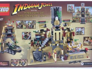 LEGOインディ・ジョーンズ 7627 クリスタル・スカルの魔宮 裏面