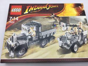 LEGOインディ・ジョーンズ 7622 アーク(聖櫃)の奪回