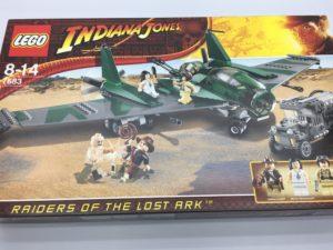 LEGOインディ・ジョーンズ 7683 軍用キャンプでの戦い