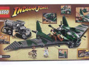 LEGOインディ・ジョーンズ 7683 軍用キャンプでの戦い 裏面