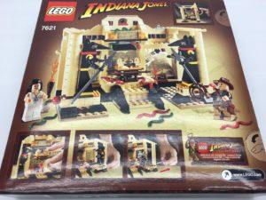LEGOインディ・ジョーンズ 神殿からの脱出 7621 裏面