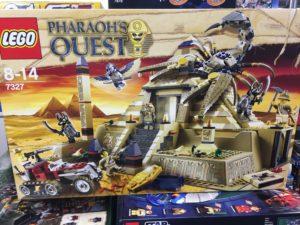 LEGOファラオズ・クエスト 7327 スコーピオン・ピラミッド