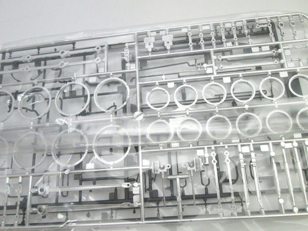 アリイ 1/50 蒸気機関車 D51 ナメクジ メッキパーツ