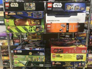 レゴパワーマイナーズやレゴマインドストーム等