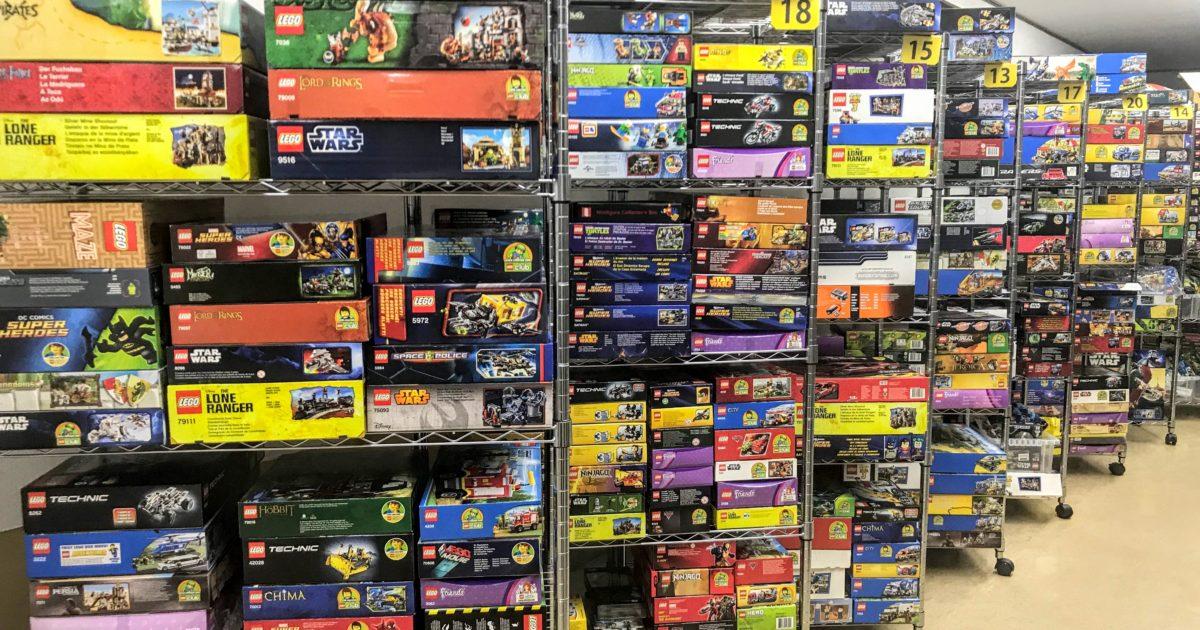 茨城県へ、総数670点を超えるレゴブロックの出張買取にお伺いしました!
