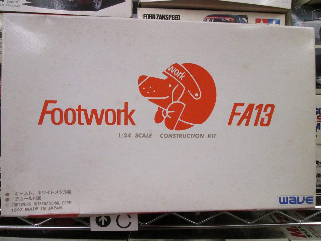 wave 1/24 フットワーク FA13