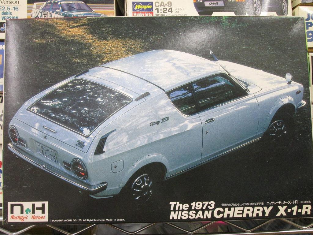 NH 1/24 ニッサン チェリーX-1-R 1973