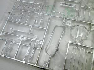 フジミ 1/24 ジャガー XK SS エンスージアストモデル メッキパーツ