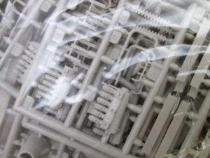 ローデン 1/72 ツェッペリンシュターケンR.IV エンジンパーツ
