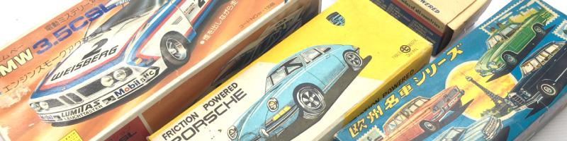 古いブリキの車や玩具の買取もおまかせ。