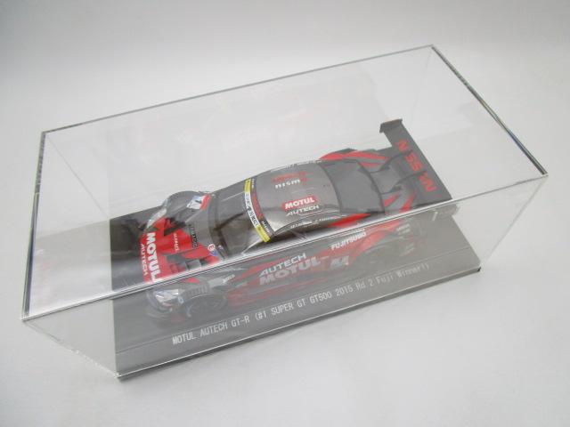 エブロ 1/18 モチュールオーテック GT-R Super GT500 Rd.2 富士優勝車2015 ニスモ特注