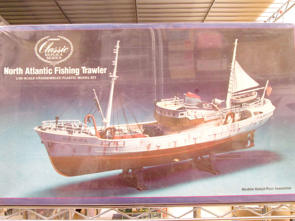 リンドバーグ 1/90 North Atlantic Fishing Trawler