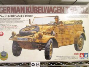 タミヤ 1/16 Pkw.K1 キューベルワーゲン82型