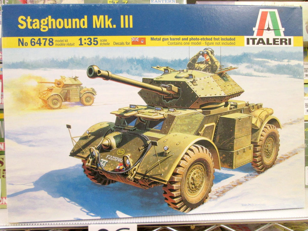 イタレリ 1/35 Staghound Mk.Ⅲ