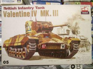 TOGA 1/35 バレンタインⅣ Mk.Ⅲ