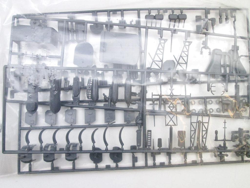 オオタキ 1/250 海上自衛隊旗艦 あきづき 艦上構造物