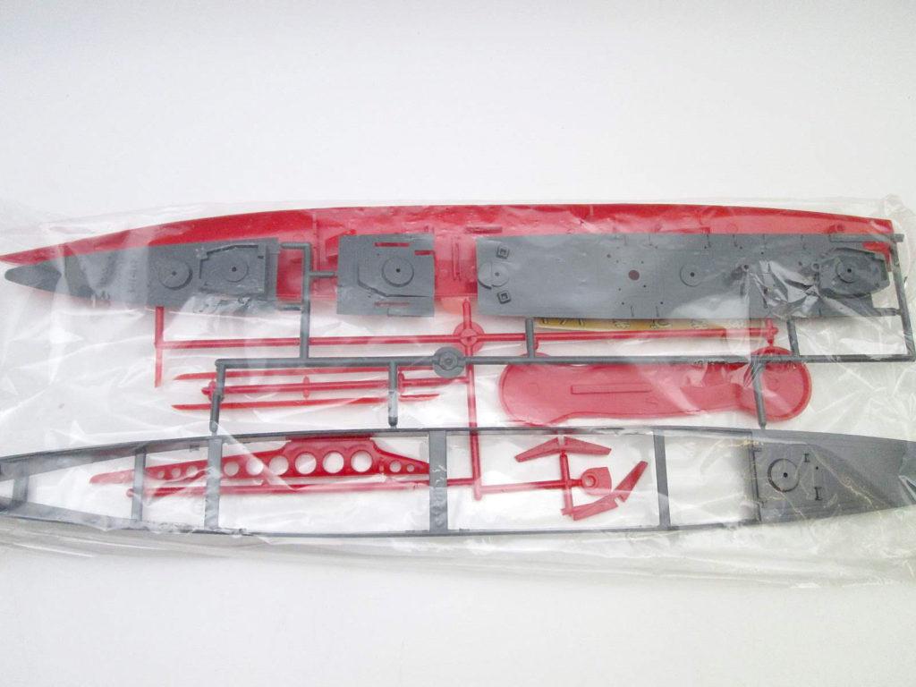 オオタキ 1/250 海上自衛隊旗艦 あきづき 船体 部品