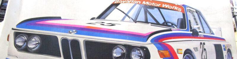 オオタキ 1/12 BMW3.5CSL