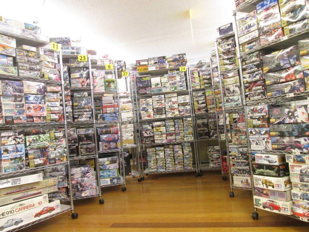 三重県に出張買取に伺い、2000点を超えるプラモデルを買取させて頂きました!
