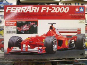 タミヤ 1/20 フェラーリ F1 2000