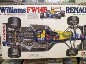 タミヤ 1/12 ウィリアムズ FW14B ルノー