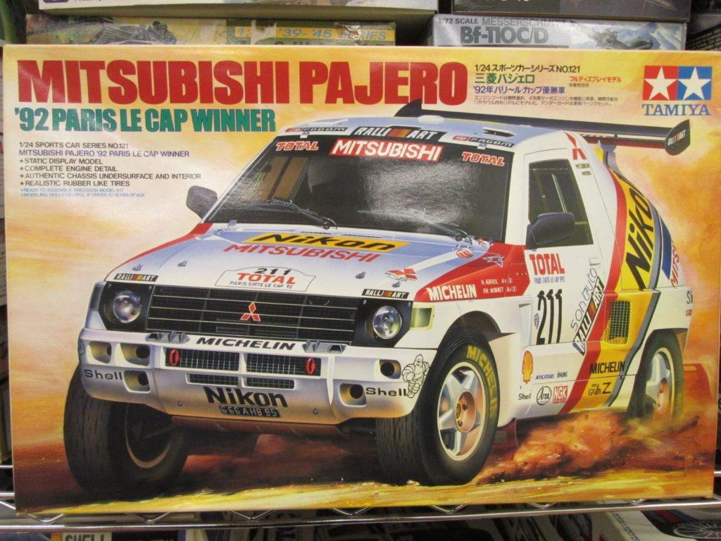 タミヤ 1/24 三菱パジェロ '92パリ~ル・カップ優勝車
