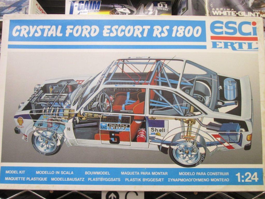 エッシー 1/24 クリスタル フォード エスコート RS 1800