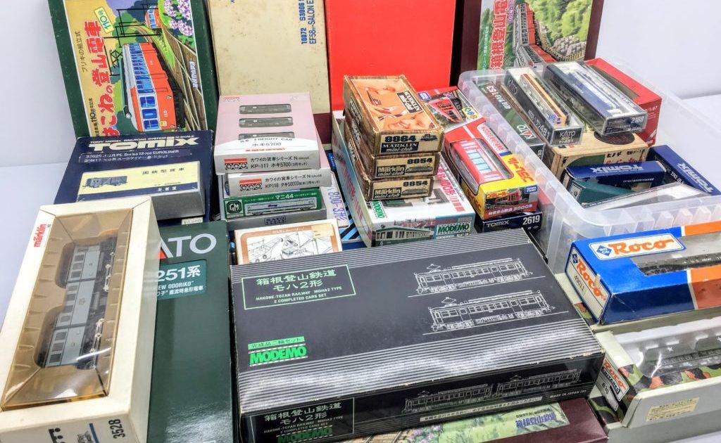 神奈川県より、メルクリンやHOゲージなど、鉄道模型を多数買取頂きました!