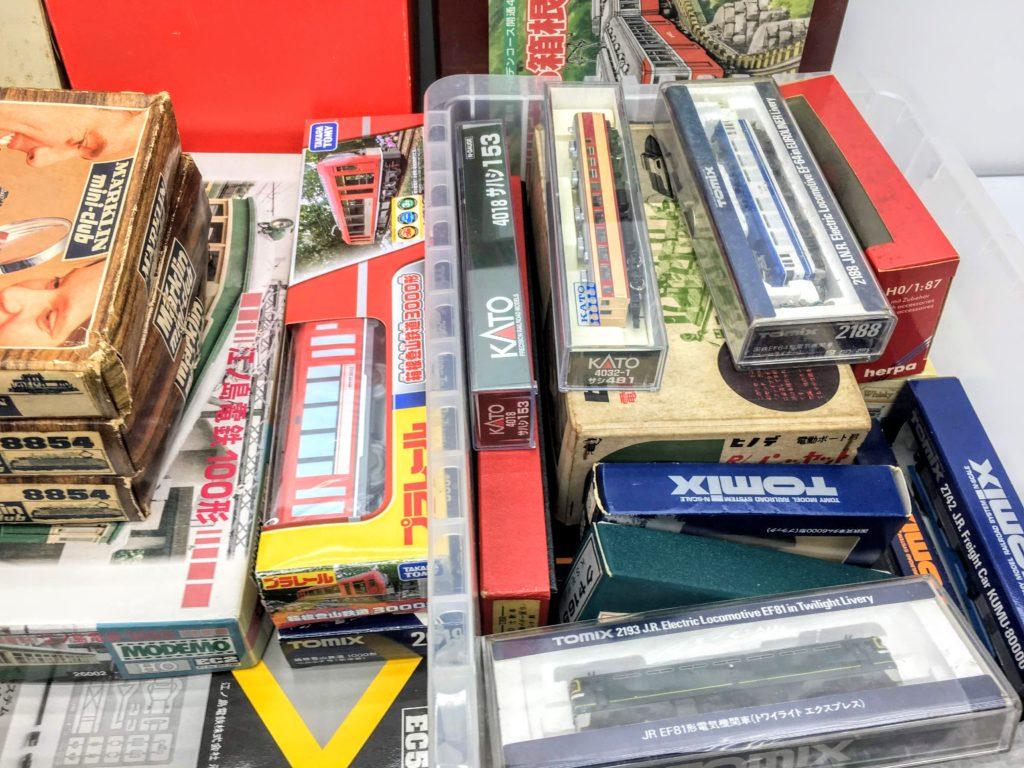 神奈川県より、メルクリンやHOゲージ、Zゲージなど、鉄道模型を多数買取頂きました!