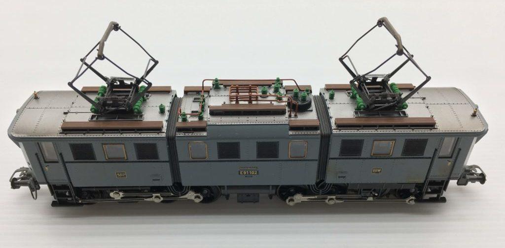メルクリン ドイツ国鉄 電気機関車 E91形 パンタグラフ