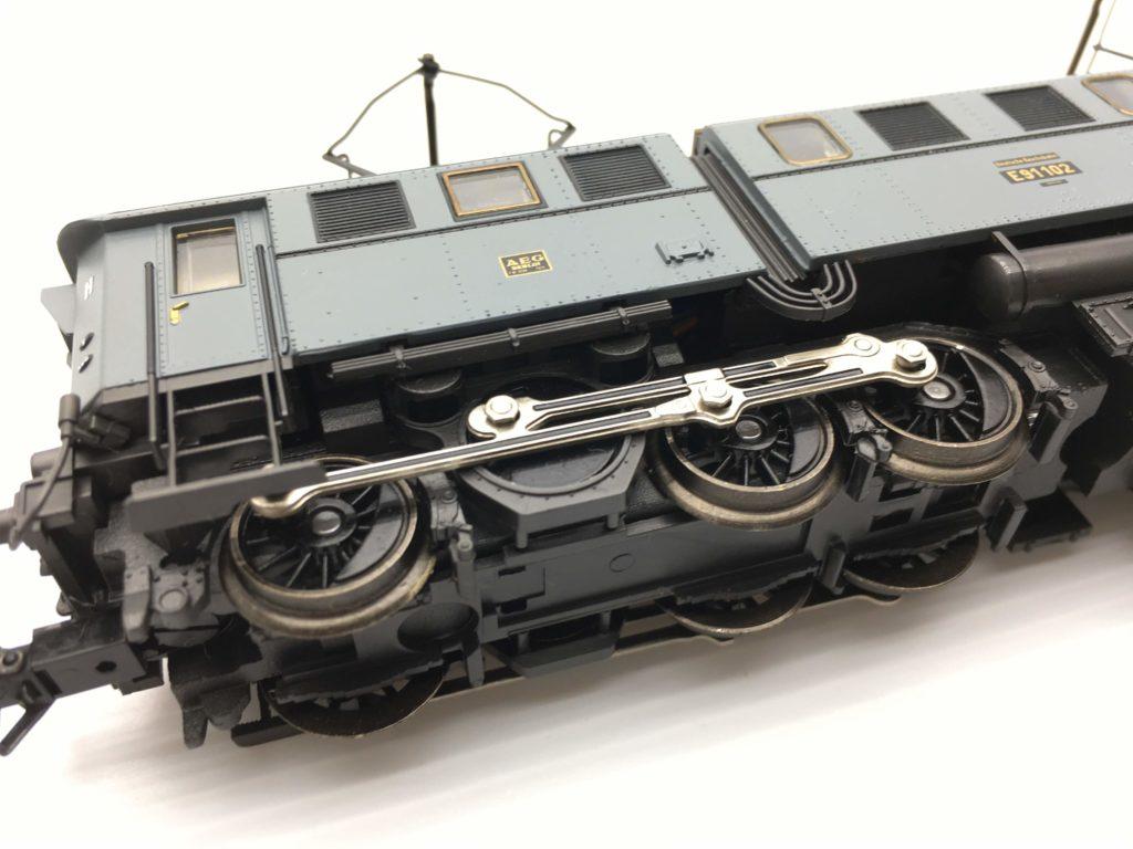 メルクリン ドイツ国鉄 電気機関車 E91形 動輪