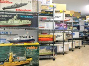 神奈川県にて、大型ラジコンボートや艦船模型の出張買取に伺いました!