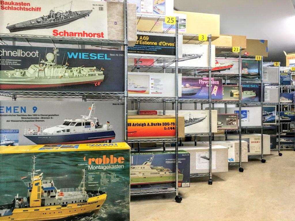 robbeやグラウプナー等のラジコンボートや艦船模型
