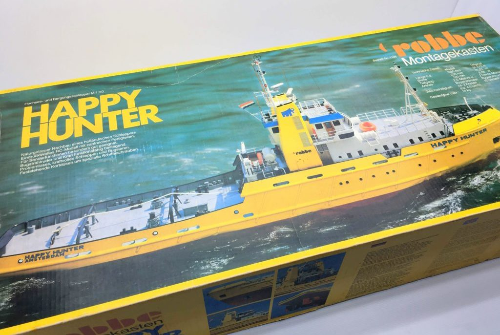 robbe オランダ サルベージタグボート ハッピーハンター