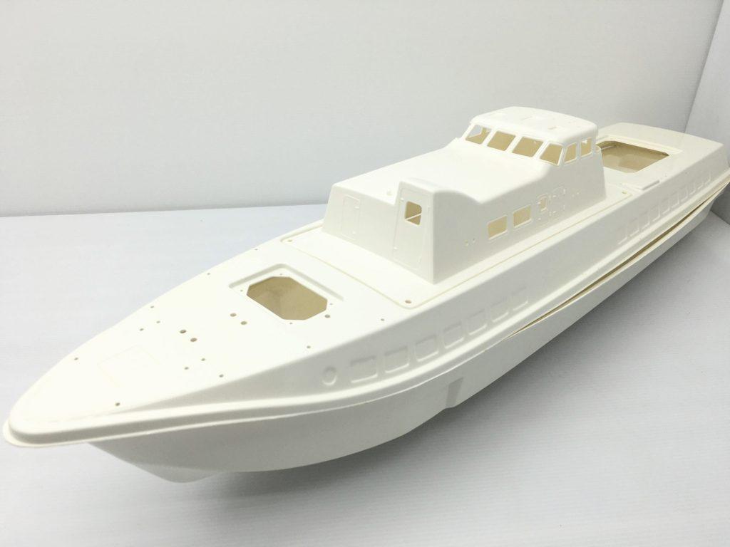 グンゼ産業 1/40 水中翼船 スーパーコメット 船体全体