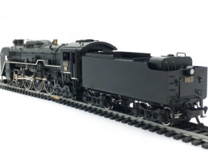 天賞堂 国鉄 C62 2 蒸気機関車 No.491 リア