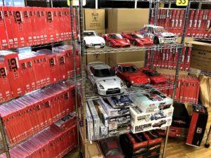 デアゴスティーニ完成品やミニカーの出張買取に埼玉県へ伺いました!